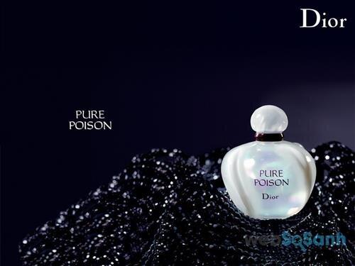 Chai nước hoa nữ Dior Poison như một viên ngọc trai lấp lánh với mùi hương nồng nàn, gợi cảm và có chút gì đó đầy táo bạo