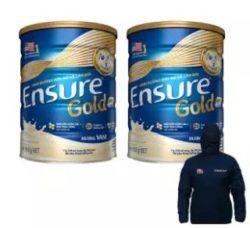 Bộ 2 lon Ensure 850g + Tặng áo khoác thể thao