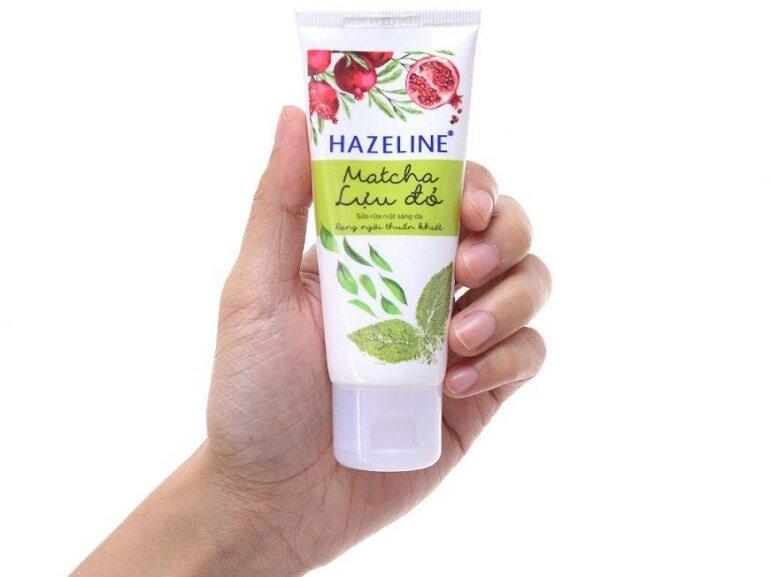 Sữa rửa mặt Hazeline Matcha lựu đỏ