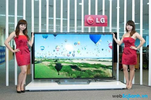 TV 4K chứa lượng điểm ảnh gấp 4 lần TV truyền thống. Nguồn Internet.