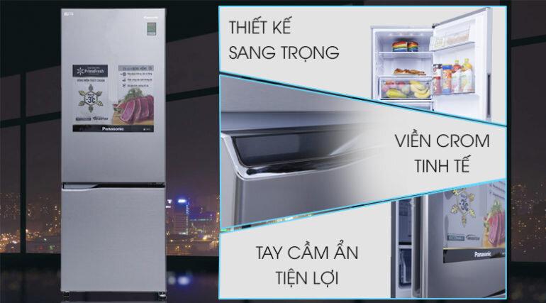 Tủ lạnh Panasonic Inverter 290 lít NR-BV329QSVN - Giá rẻ nhất: 8.026.000 vnđ