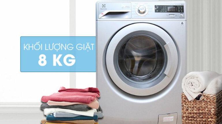 Máy giặt Electrolux Inverter 8Kg EWF12832S (cửa ngang) – Giảm 23% GIÁ CHỈ CÒN 11.490.000 vnđ