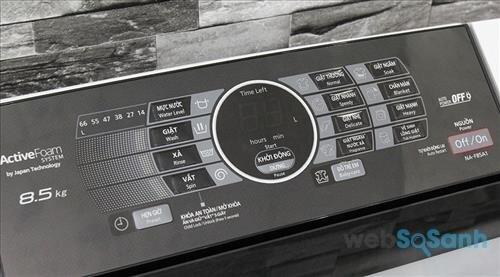 Bảng điều khiển máy giặt Panasonic NA-F85A1WRV