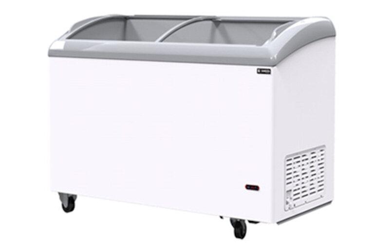 Tủ đông Sanden được thiết kế hiện đại và tinh tế