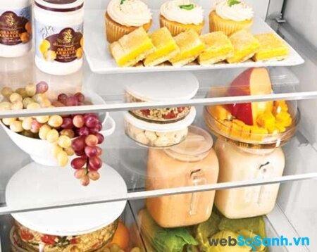 Luồng khí lạnh đa chiều giúp thực phẩm được bảo quản đồng đều (nguồn: internet)