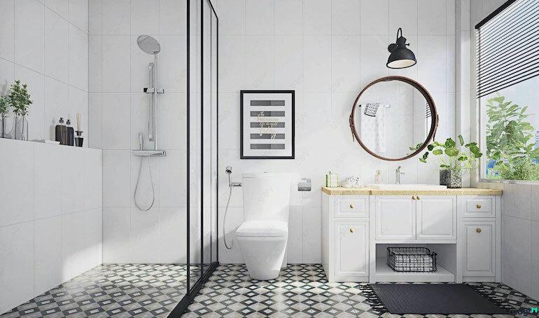 Phong cách công nghiệp – Xu hướng thiết kế nội thất phòng tắm được ưa chuộng