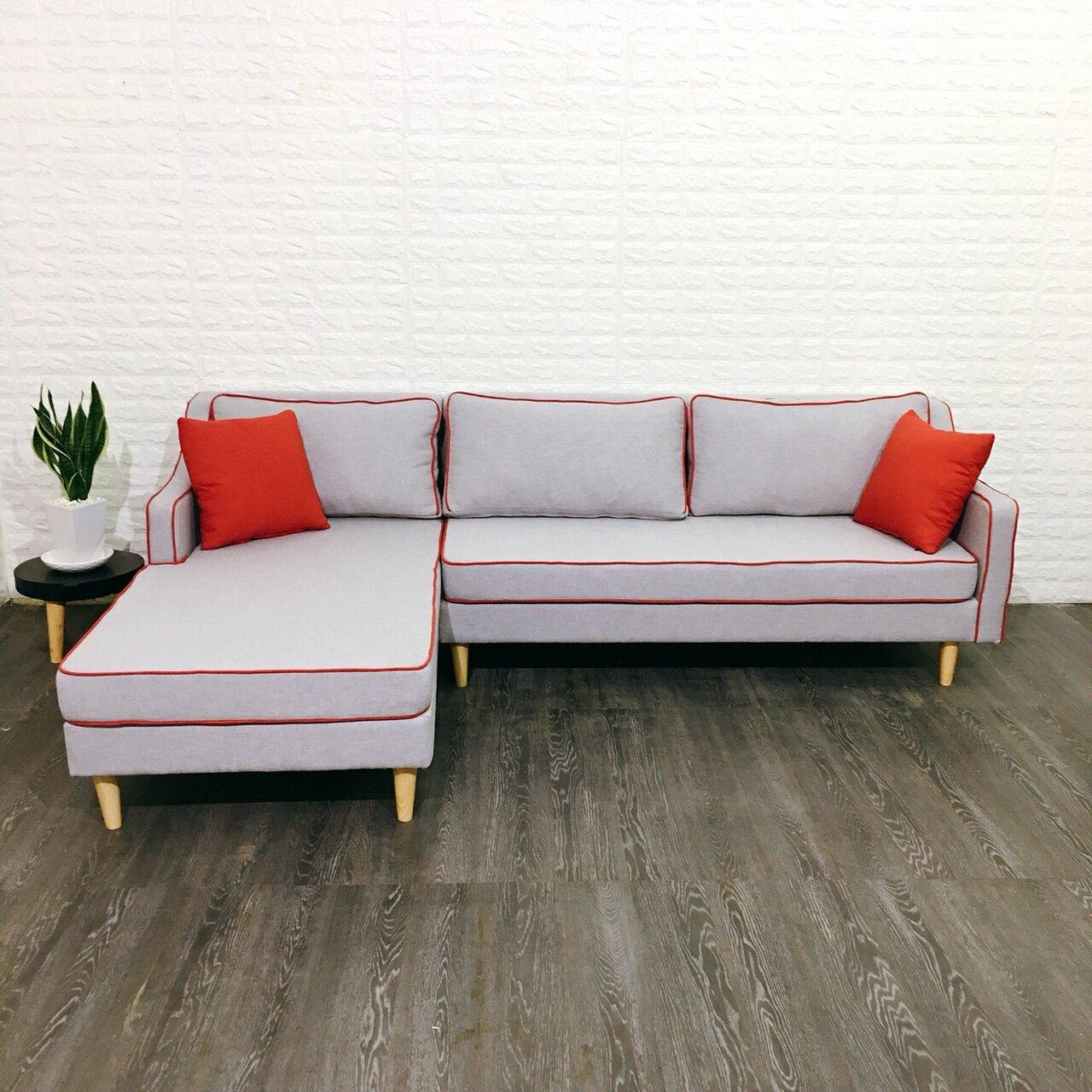 Bột ghế sofa góc Juno với màu sắc mới lạ, độc đáo