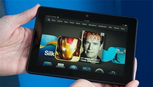 Amazon Kindle Fire HDX 7 - Ảnh: Mashable