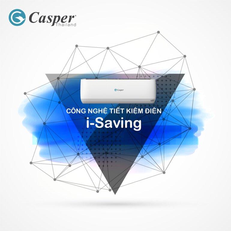 công nghệ I-Saving trên điều hòa Casper 2019 có gì đặc biệt ?