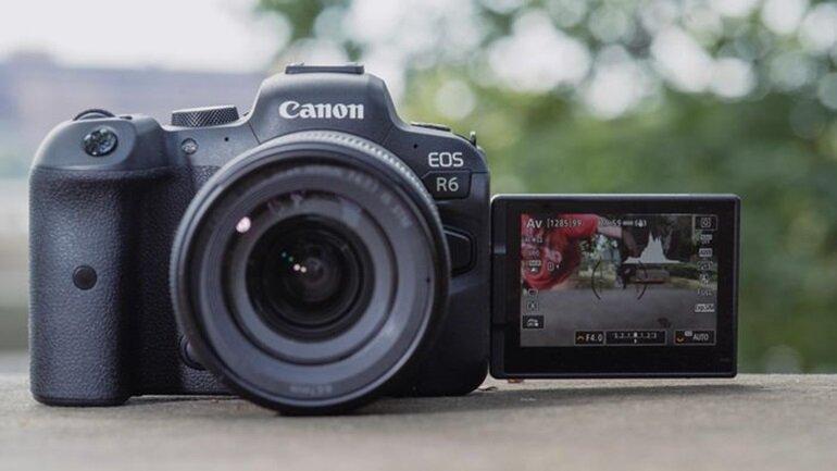 máy ảnh canon eos r6