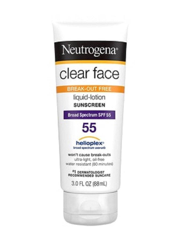 Kem chống nắng Neutrogena Clear Face