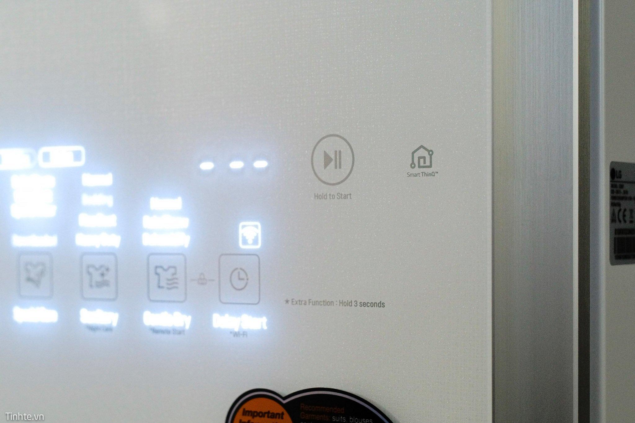 Các chức năng của tủ quần áo thông minh LG Styler