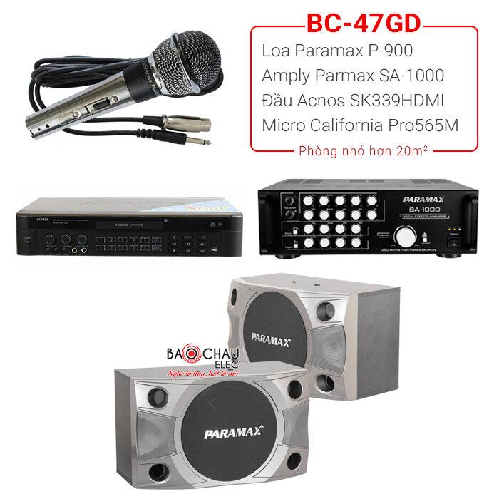 Dàn karaoke BC - 47GD