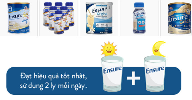Giá sữa ensure chai nhựa , ensure Mỹ , ensure original , ensure gold 400g , 850g , 900g bao nhiêu tiền ?
