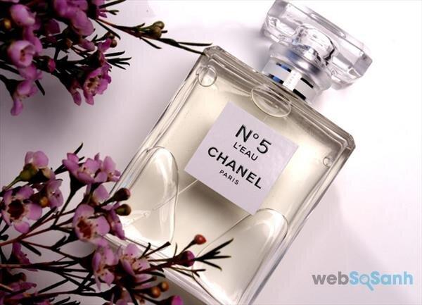 mùi hương của nước hoa chanel no5 leau