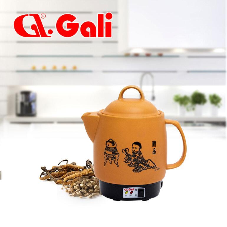 Siêu sắc thuốc hãng Gali làm bằng nguyên liệu chính là gốm tráng men