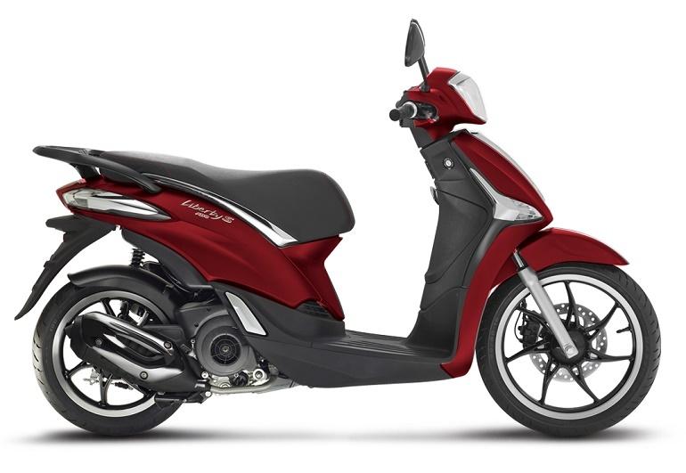 xe máy Piaggio Liberty có những màu nào