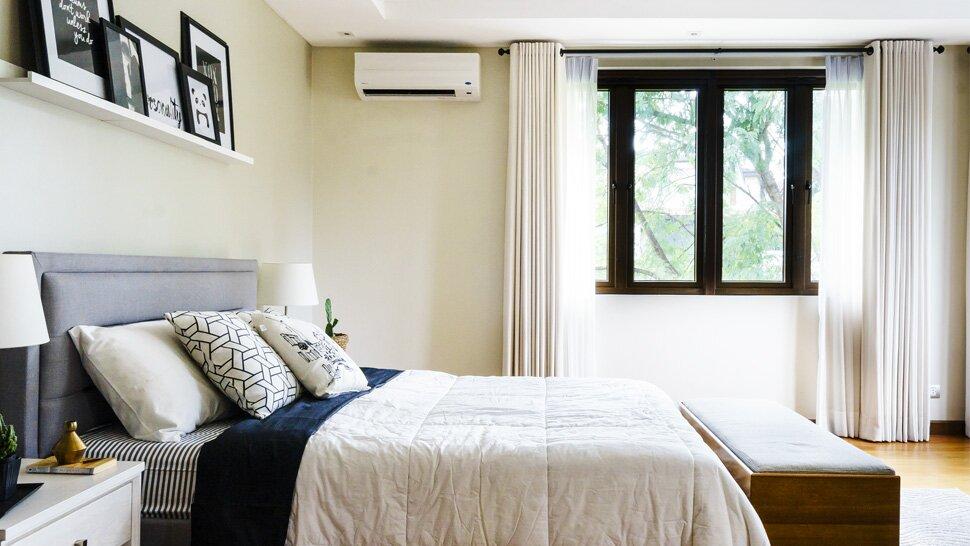 Nên lắp điều hòa trong phòng ngủ ở vị trí nào?