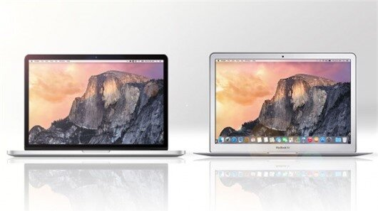 Gizmag compares the features and specs of the 2015 versions of the 13-in MacBook Pro with Retina Display (left) and 13-in MacBook Air