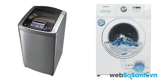 LG WFD8517DD và Samsung WF750W2BCWQ/SV (nguồn: internet)
