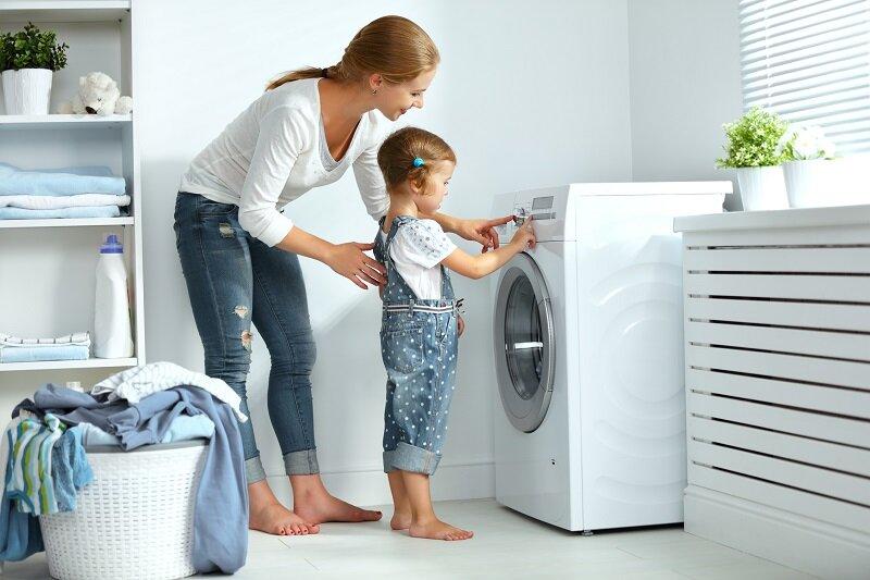 Máy giặt LG và Samsung có thiết kế sang trọng và tinh tế