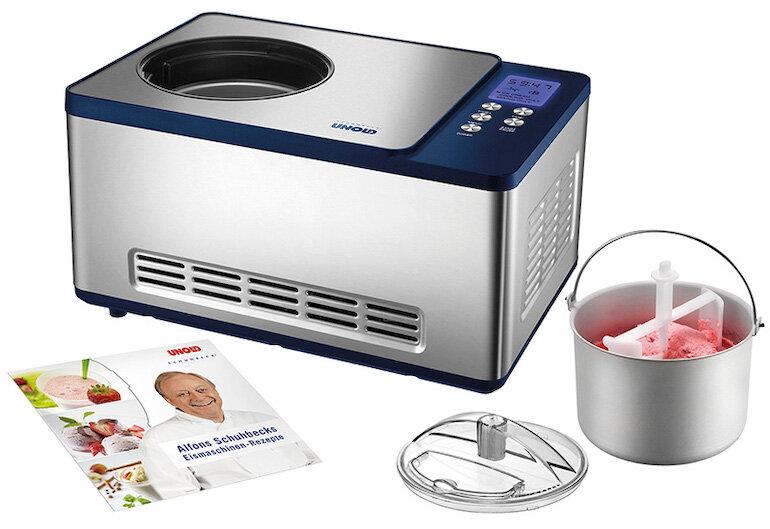 Những ưu điểm và chức năng của máy làm kem Unold 48818