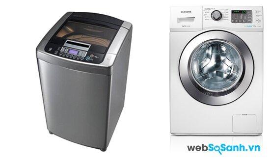 LG WFD1119DD và Samsung WF752U2BKWQ/SV (nguồn: internet)