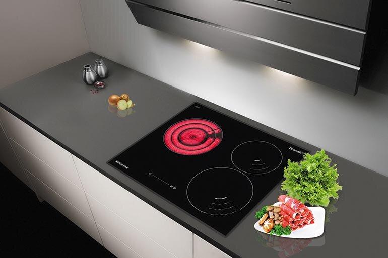 Các sản phẩm bếp điện từ và hồng ngoại hiện nay đều có thiết kế tương tự nhau