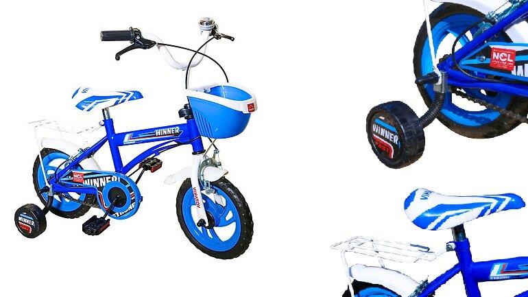 Xe đạp trẻ em 3 tuổi Nhựa Chợ Lớn12 inch K106 - M1820-X2B - Giá tham khảo: 399.000 vnđ