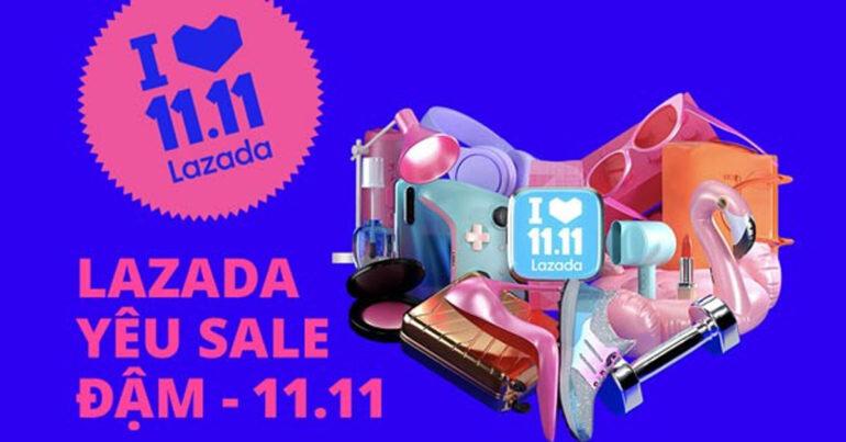Lazada 11.11 Sale Single Day 2019 có điểm gì mới so với năm ngoái