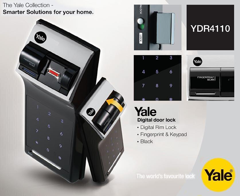 Khóa vân tay Yale YDR 4110