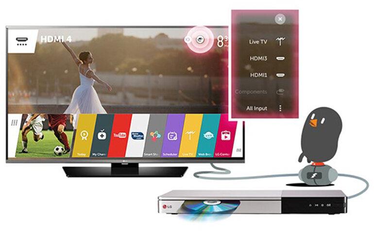 Smart Tivi LED LG Full HD 43inch 43LF631V