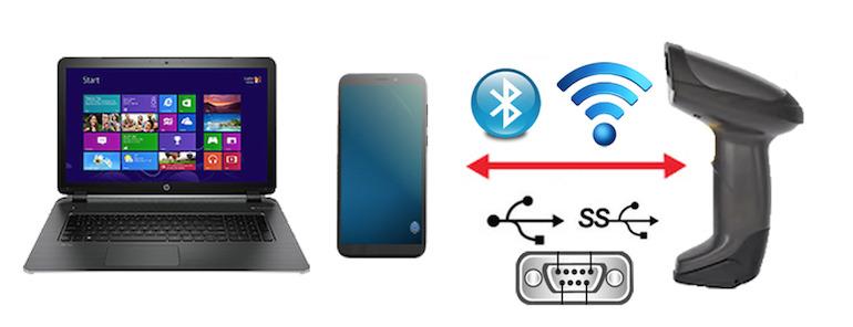 Hướng dẫn kết nối máy quét mã vạch với điện thoại hiệu quả