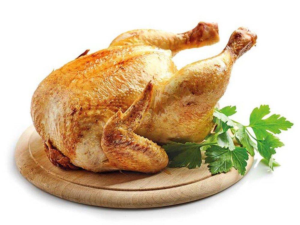Thịt gà là món ăn bổ dưỡng cho mái tóc