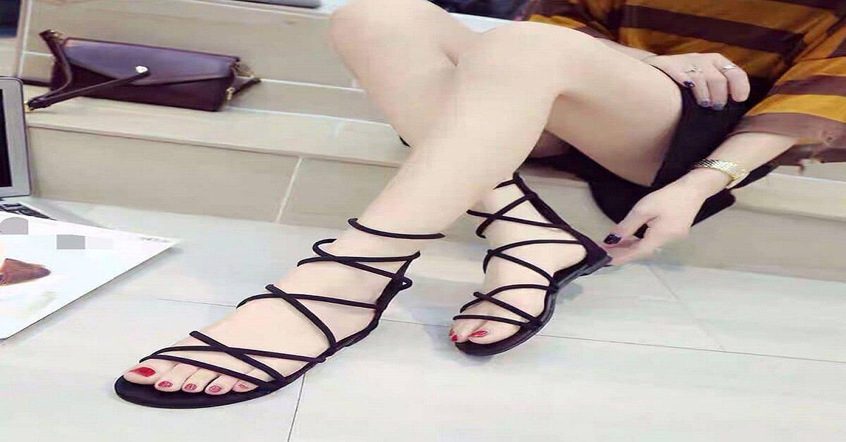 sandal nữ chiến binh
