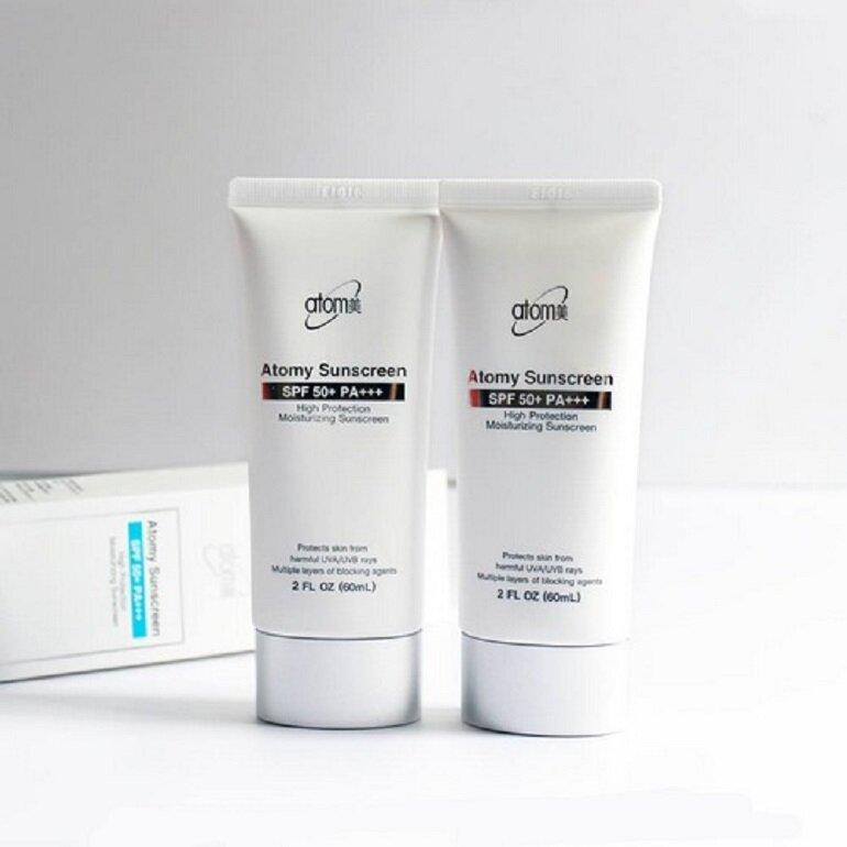 Kem chống nắng Atomy Sunscreen High Protection Moisturizing