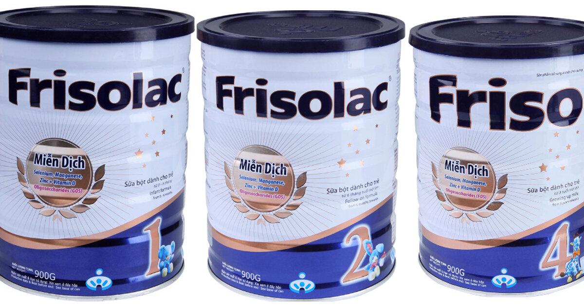 Các loại Sữa Friso miễn dịch