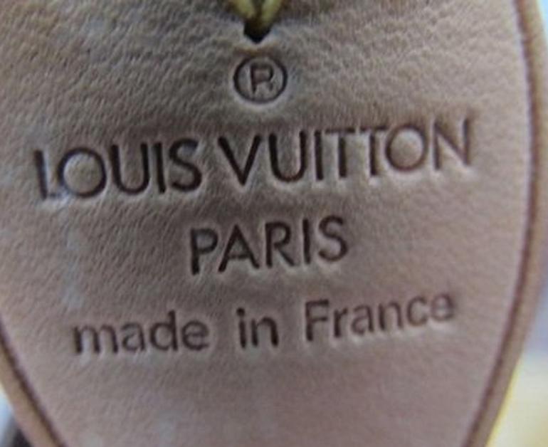 kiểm tra kỹ xuất xứ Louis Vuitton