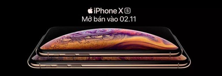 Mua iPhone XS và XS Max - Nhận hàng trong vòng 3 tiếng tại sao không ?
