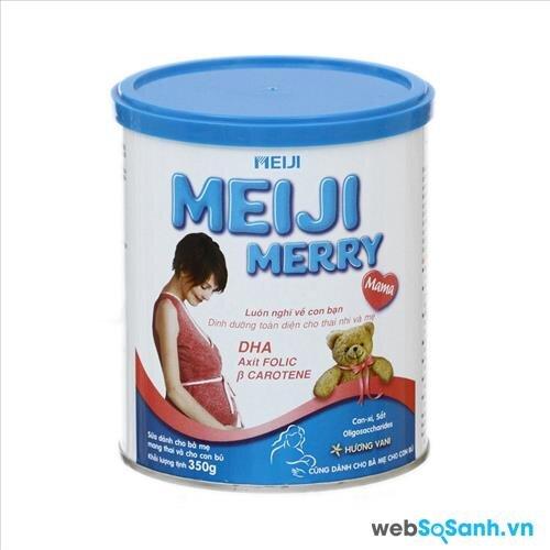 Meiji Merry Mama là nguồn dinh dưỡng chọn lọc với 25 dưỡng chất thiết yếu