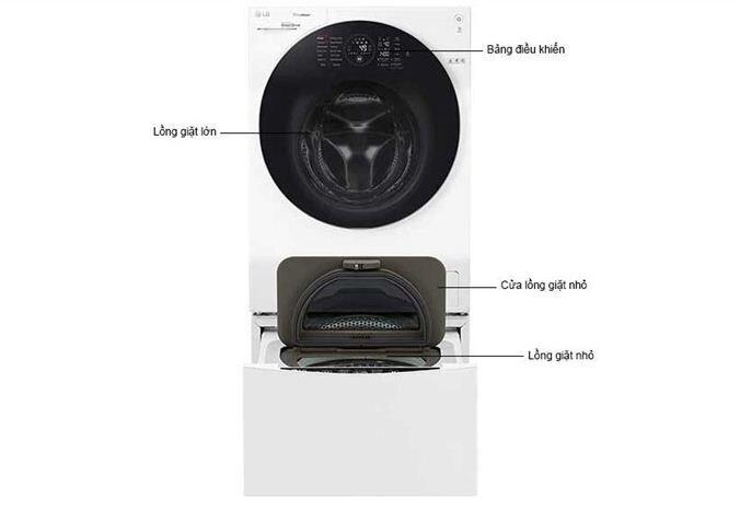Những ấn tượng tuyệt vời với chiếc máy giặt nghệ thuậtLG Twin Wash này mang lại