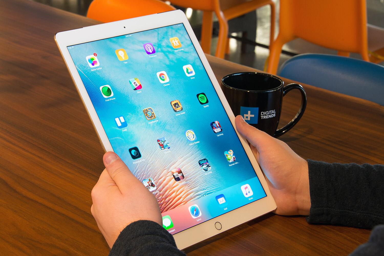 Apple iPad Pro phiên bản 12.9 inch màu hồng
