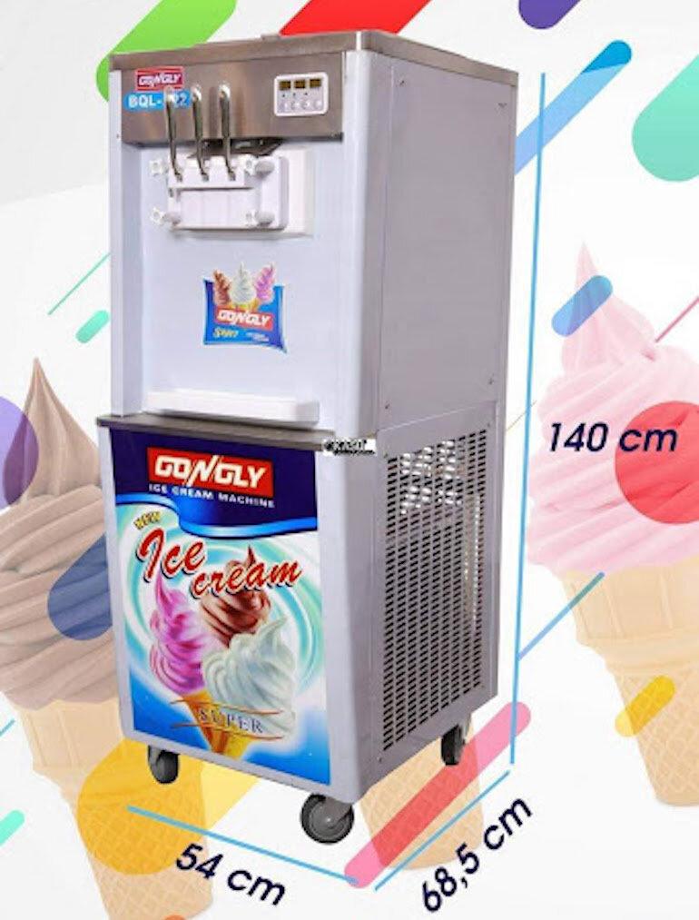 Máy làm kem tươi 3 vòi BQL S22-2M (2 block)