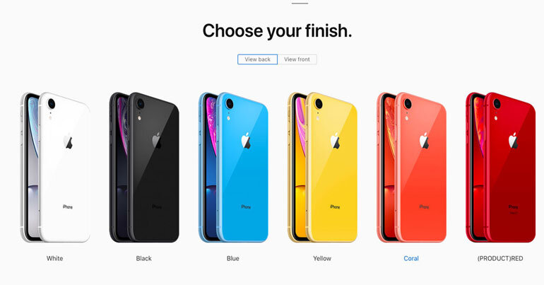iphone xr2 có những màu nào