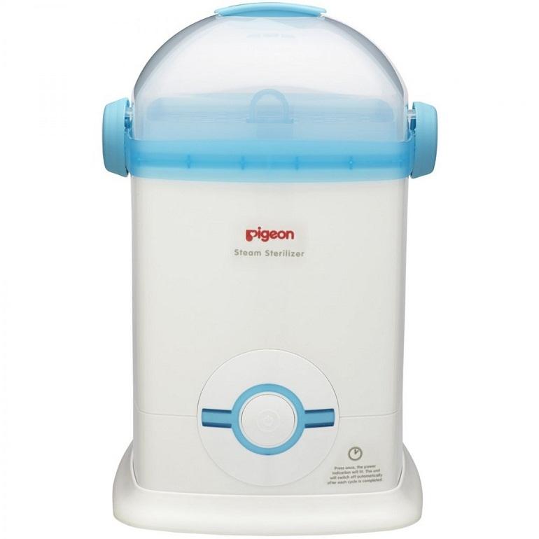 Sử dụng máy tiệt trùng bình sữa cũng là phương pháp được nhiều mẹ lựa chọn