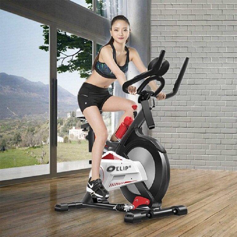 Tác dụng khi tập luyện với xe đạp tập thể dục