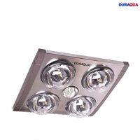 Đèn sưởi nhà tắm 4 bóng âm trần Heizen HE-4B610