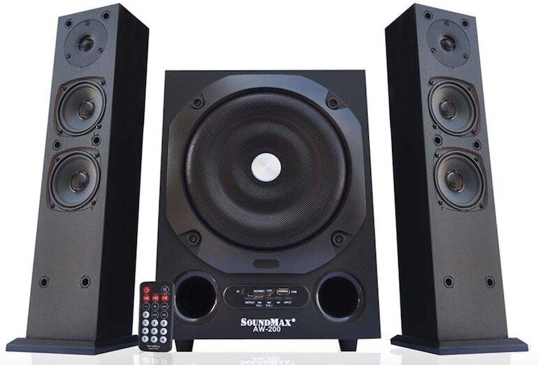 Hệ thống âm thanh 2.1 nghe nhạc cực chất