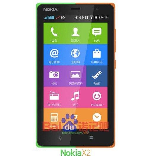 Nokia X2 rỏ rì ảnh mới, ra mắt ngày 24/6 - 1
