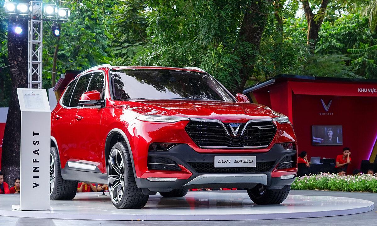Hình ảnh xe dòng xe SUV Lux SA2.0 của VinFast